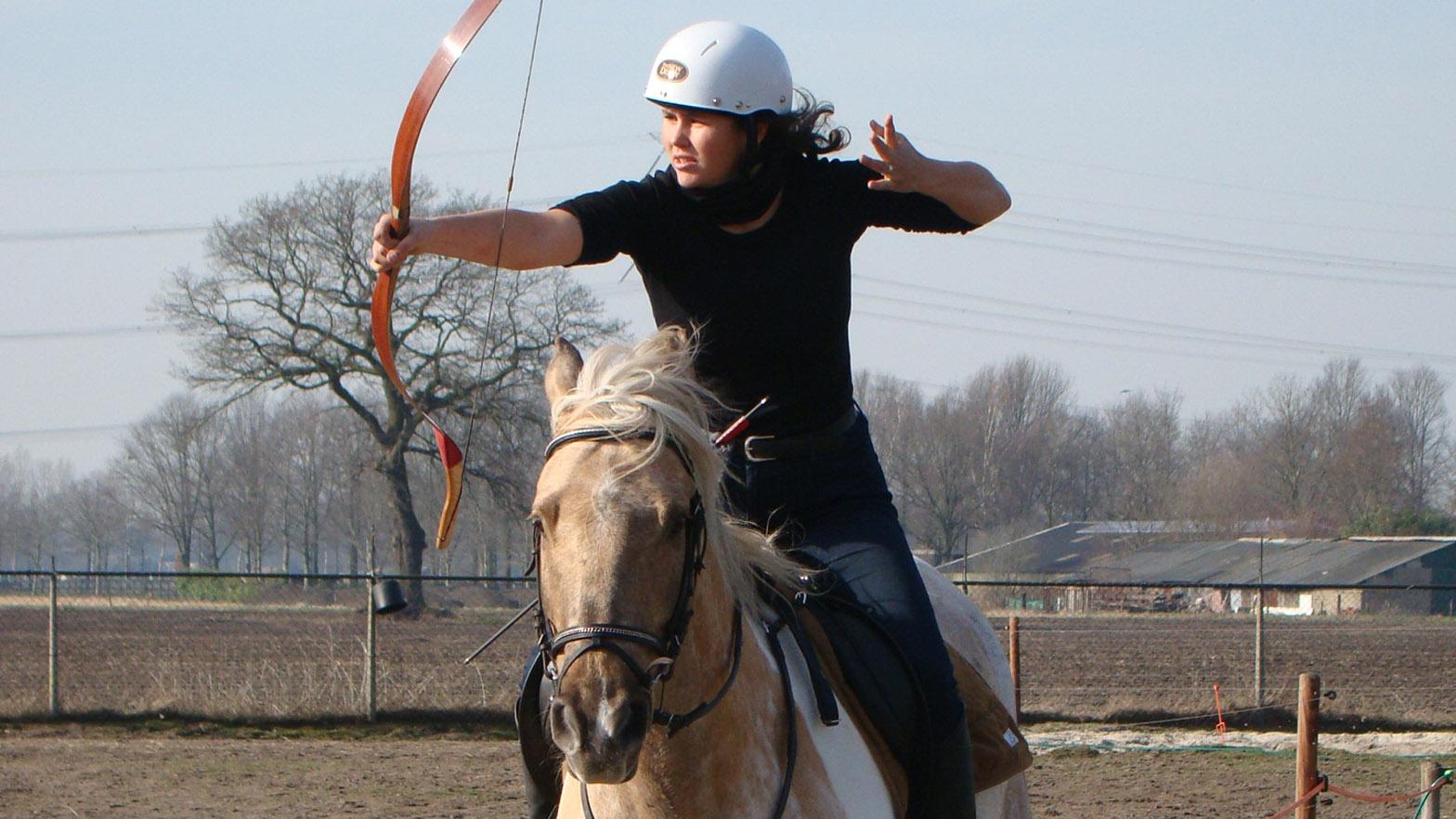 WK-kwalificatie bij Siem Horseback Archery